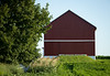 red barn white trim